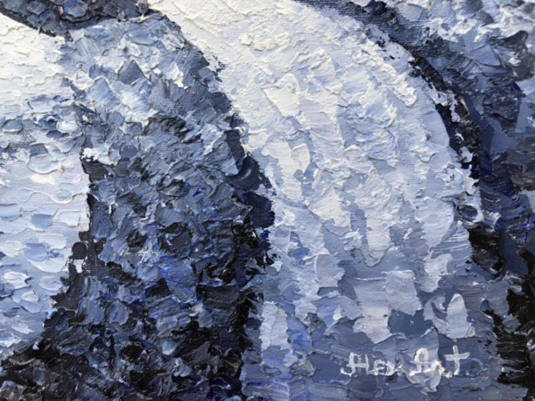"Alexander Antanenka- ""Moonwalk"" Original Acrylic on - 4"