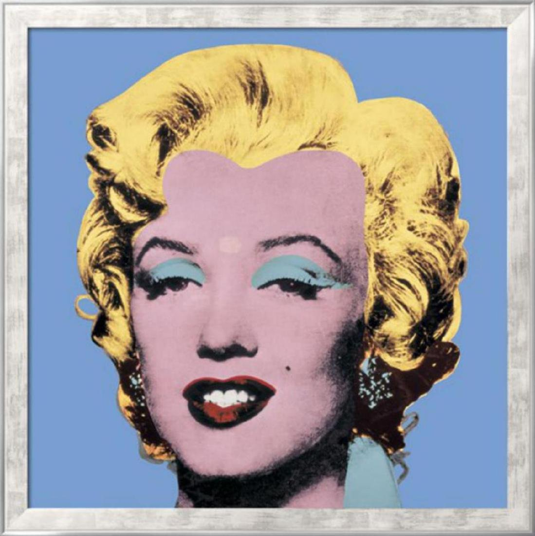 Andy Warhol- Shot Light Blue Marilyn, 1964