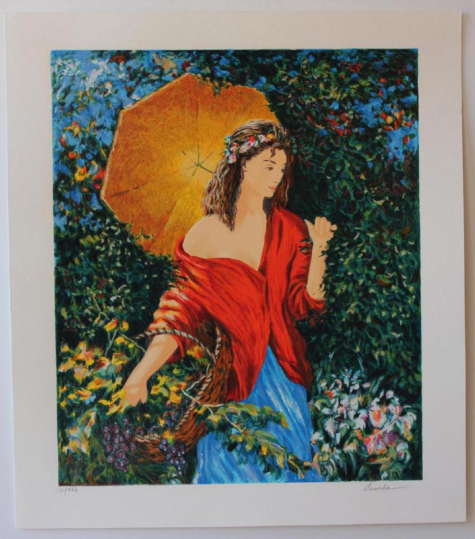 Igor Semeko Limited Edition Serigraph After the Rain