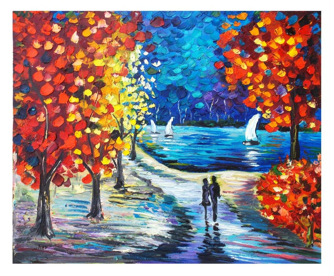 "Svyatoslav Shyrochuk- Original Oil on Canvas ""Romantic"