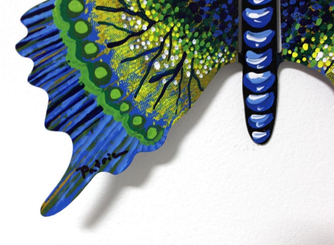 Patricia Govezensky Original Wall Butterfly 3D Metal - 3