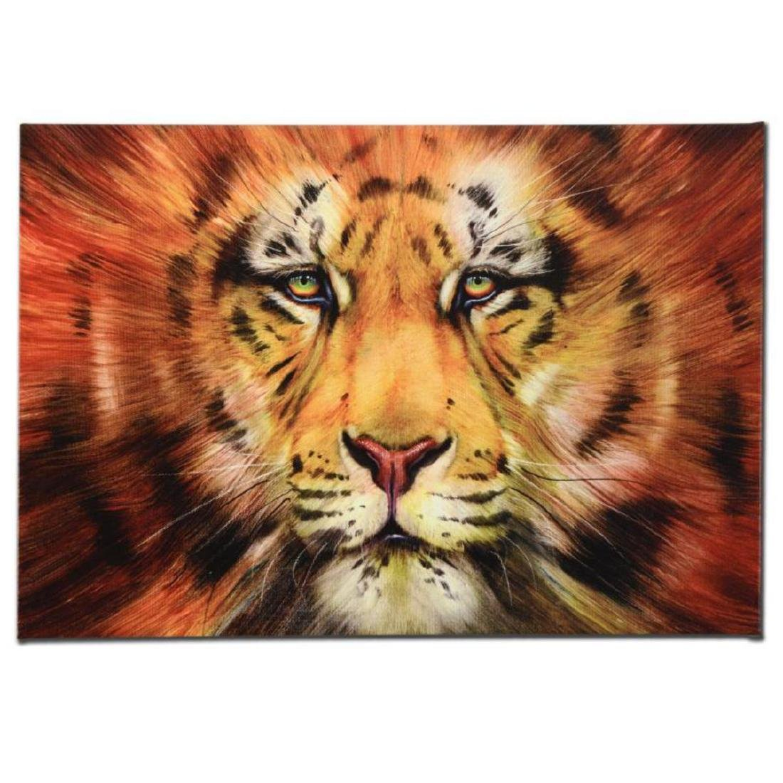 """Red Liger"" Limited Edition Giclee on Gallery Wrapped"