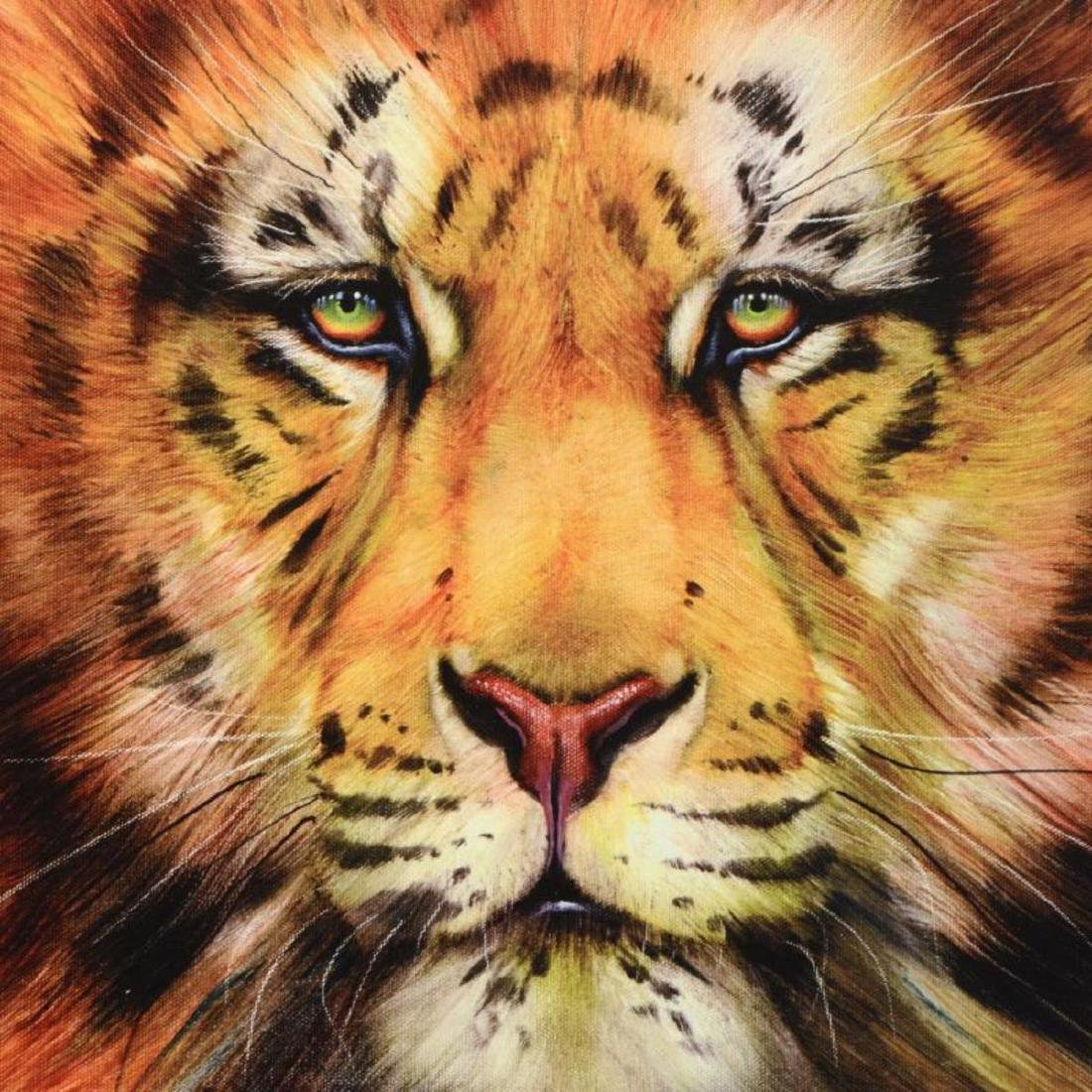 """Red Liger"" Limited Edition Giclee on Gallery Wrapped - 2"