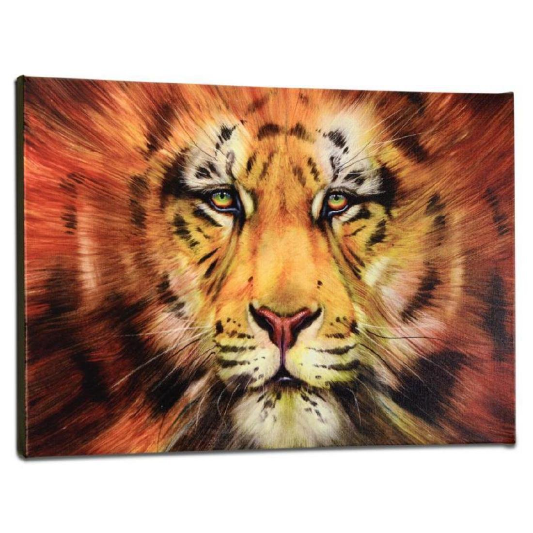 """Red Liger"" Limited Edition Giclee on Gallery Wrapped - 3"