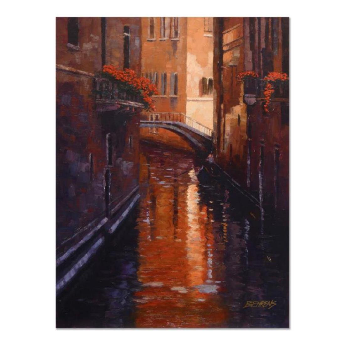 "Howard Behrens (1933-2014) - ""Evening Shadows (Venice)"""