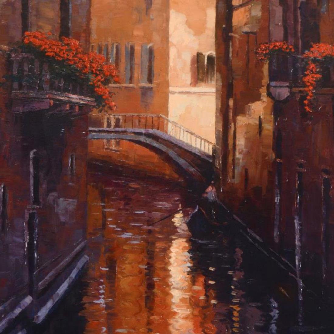 "Howard Behrens (1933-2014) - ""Evening Shadows (Venice)"" - 2"