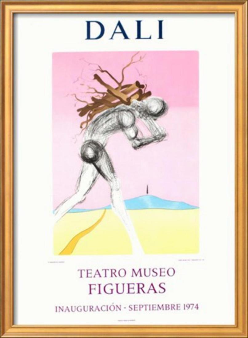 """Salvador Dalí """"Teatro Museo Figueras 9"""" Original"""