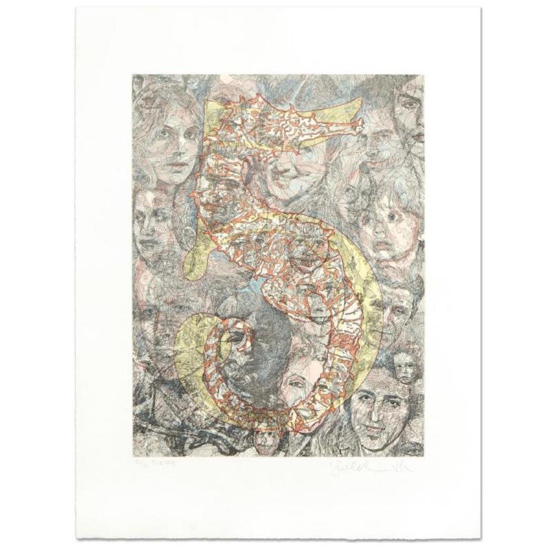 """Guillaume Azoulay - """"Five"""" Limited Edition Hand Colored"""