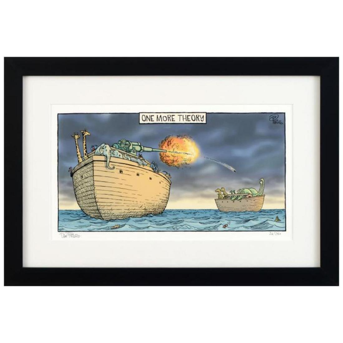 "Bizarro! ""One More Theory"" is a Framed Limited Edition"