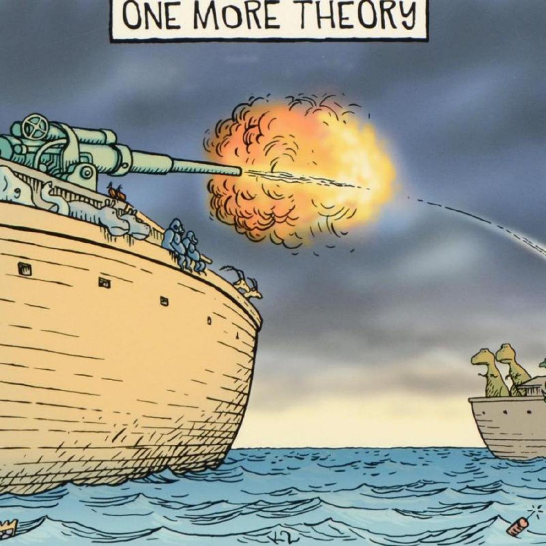 """Bizarro! """"One More Theory"""" is a Framed Limited Edition - 2"""