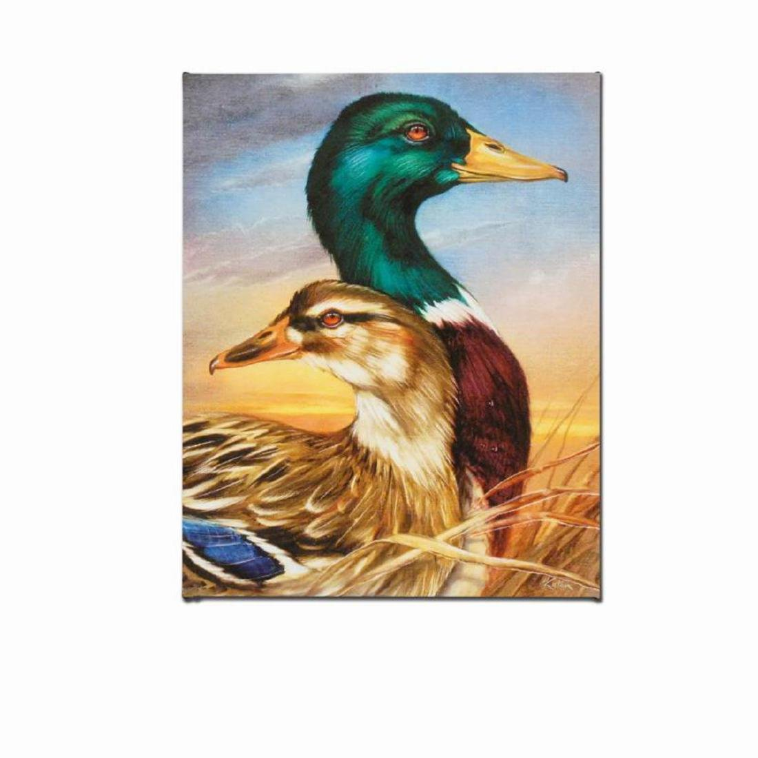 """Mallard"" Limited Edition Giclee on Canvas by Martin"