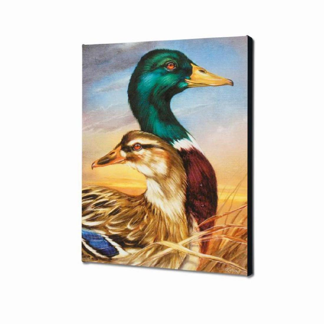 """Mallard"" Limited Edition Giclee on Canvas by Martin - 3"