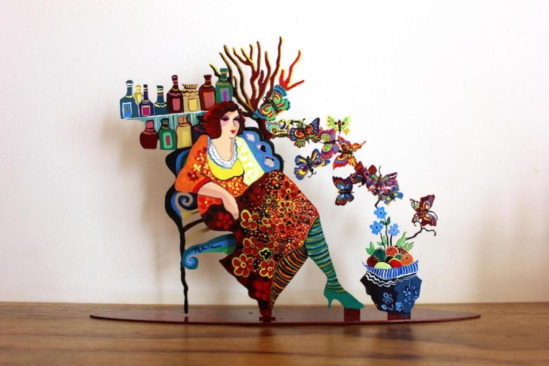 Patrica Govezensky Original 1-of-kind Table Sculpture