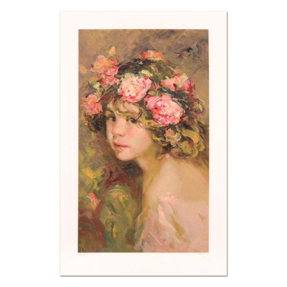 """Royo - """"Inocencia"""" Limited Edition Serigraph, Numbered"""
