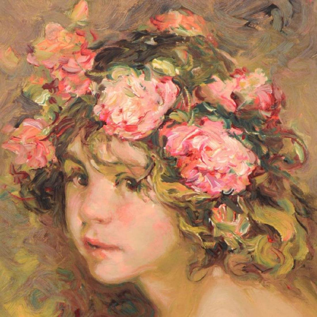 """Royo - """"Inocencia"""" Limited Edition Serigraph, Numbered - 2"""