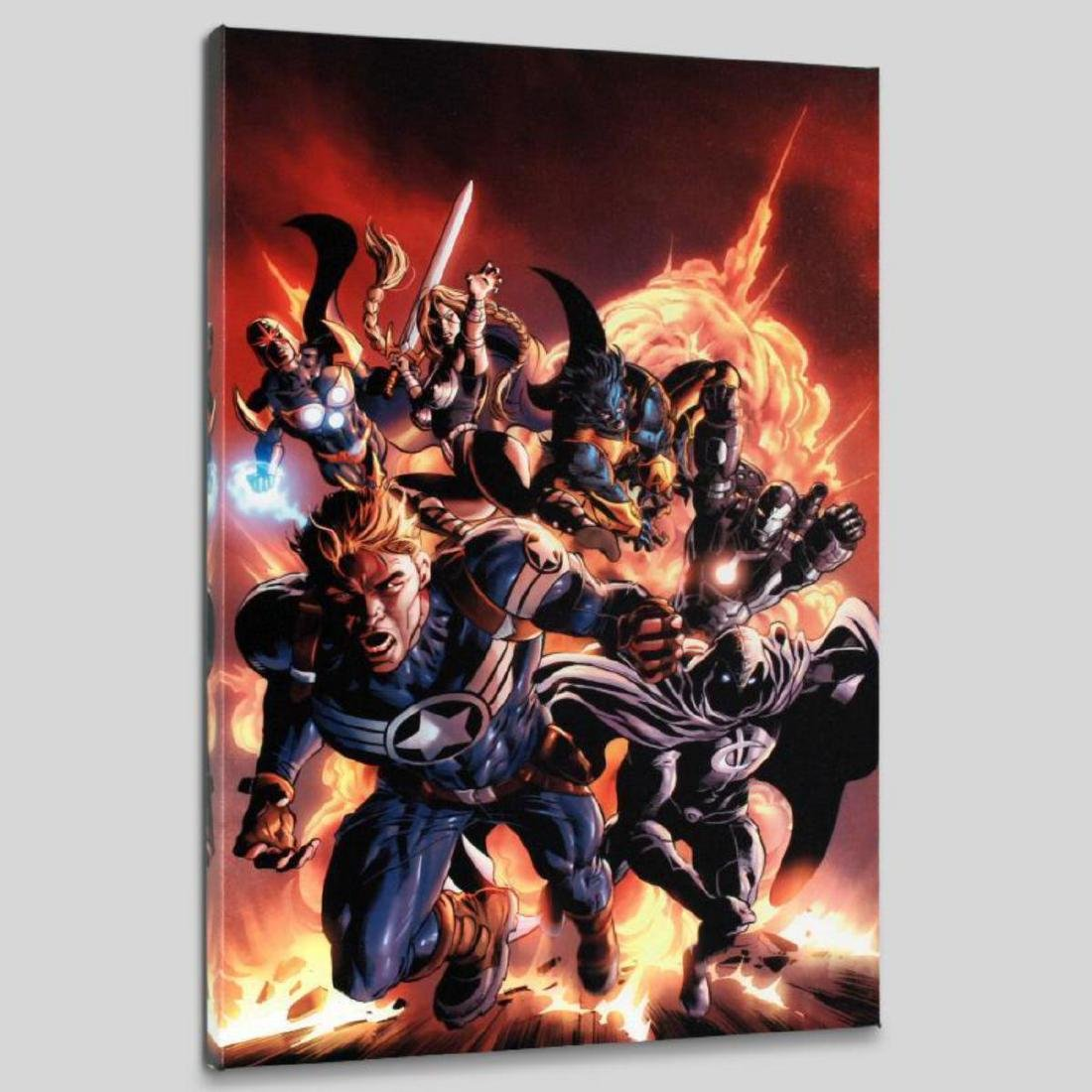 """""""Secret Avengers #2"""" LIMITED EDITION Giclee on Canvas - 3"""