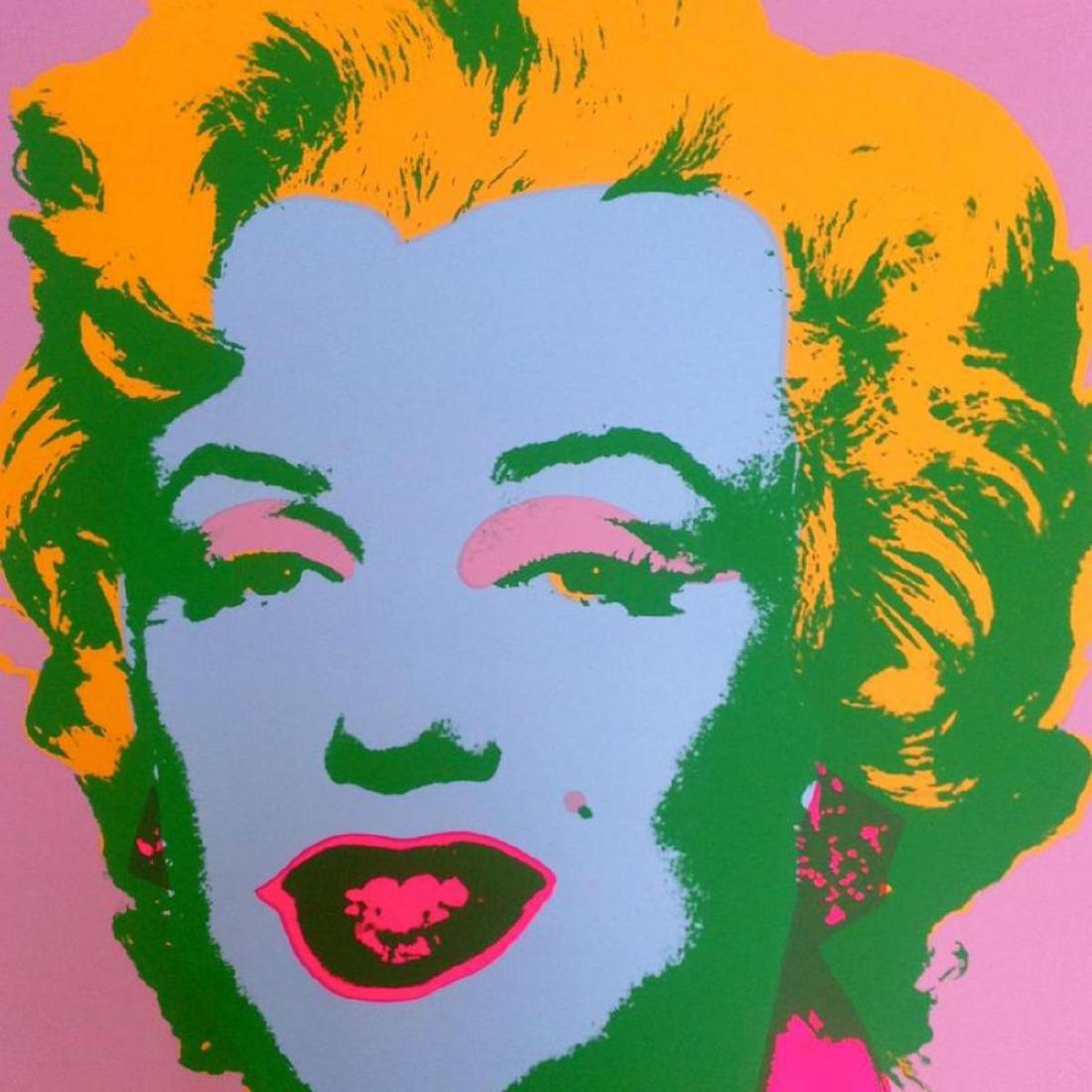 "Andy Warhol ""Marilyn 11.28"" Silk Screen Print from - 2"