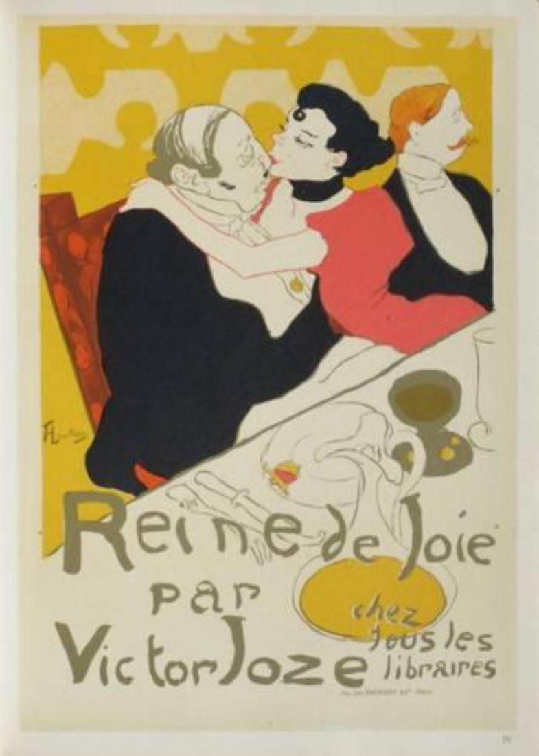 """Henri de Toulouse-Lautrec """"Reine de joie"""""""