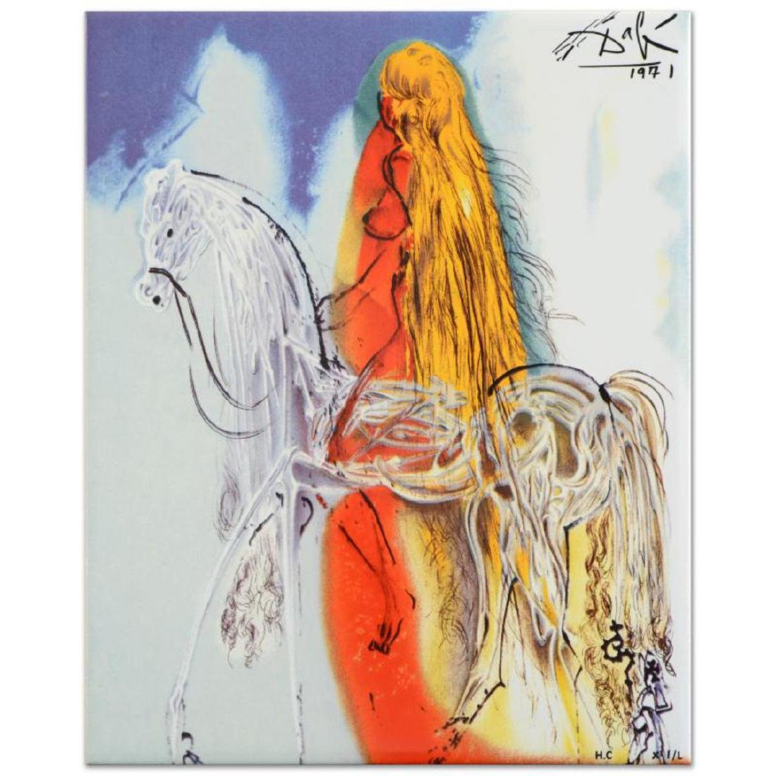 "Salvador Dali (1904-1989) - ""Lady Godiva"" SOLD OUT"