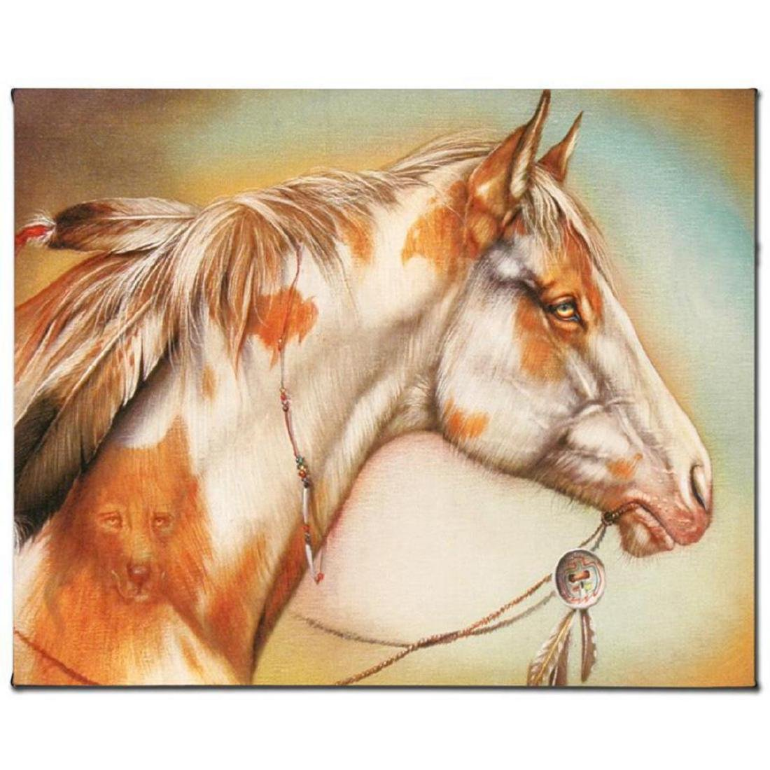 """Dreamer Horse"" Limited Edition Giclee on Canvas by"