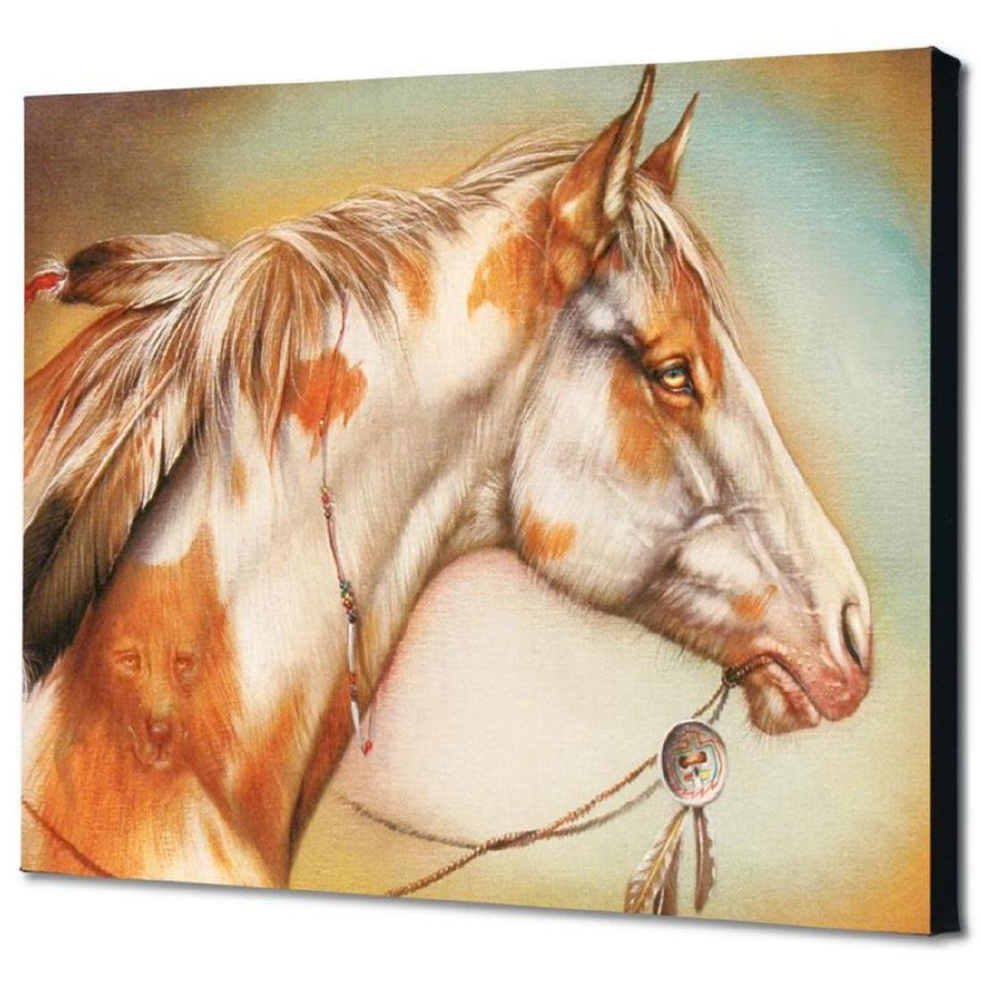 """Dreamer Horse"" Limited Edition Giclee on Canvas by - 3"