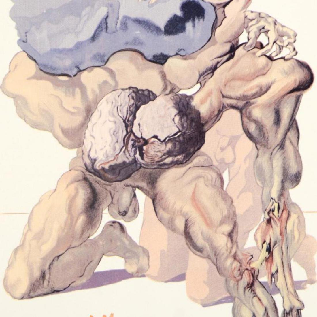 """Salvador Dali (1904-1989) - """"The Avaricious and the - 2"""