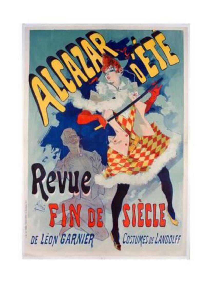 "Jules Chéret ""Alacazar D'Ete Poster, 1890"" Offset"