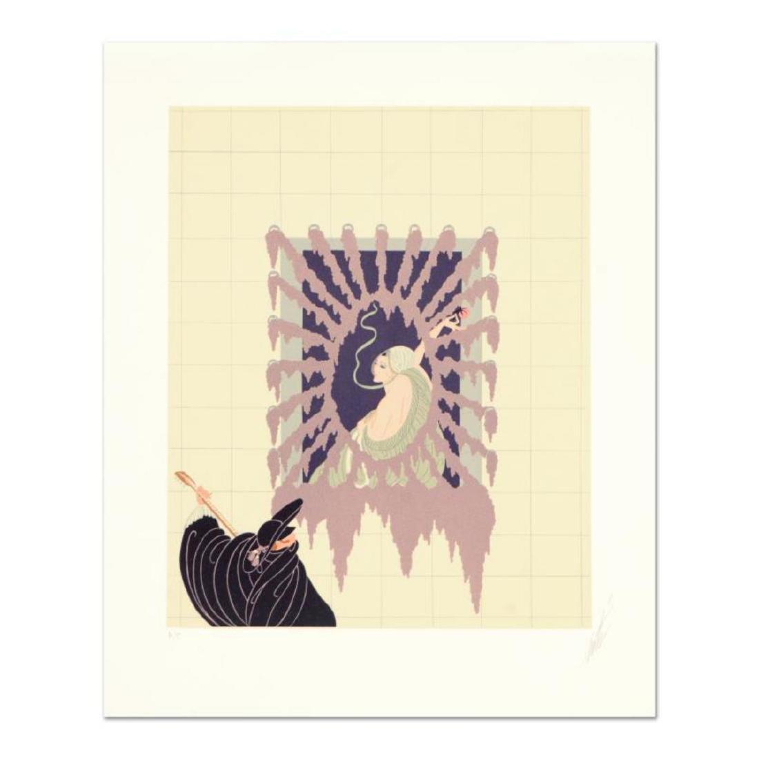 """Erte (1892-1990) - """"La Serenade"""" Limited Edition"""