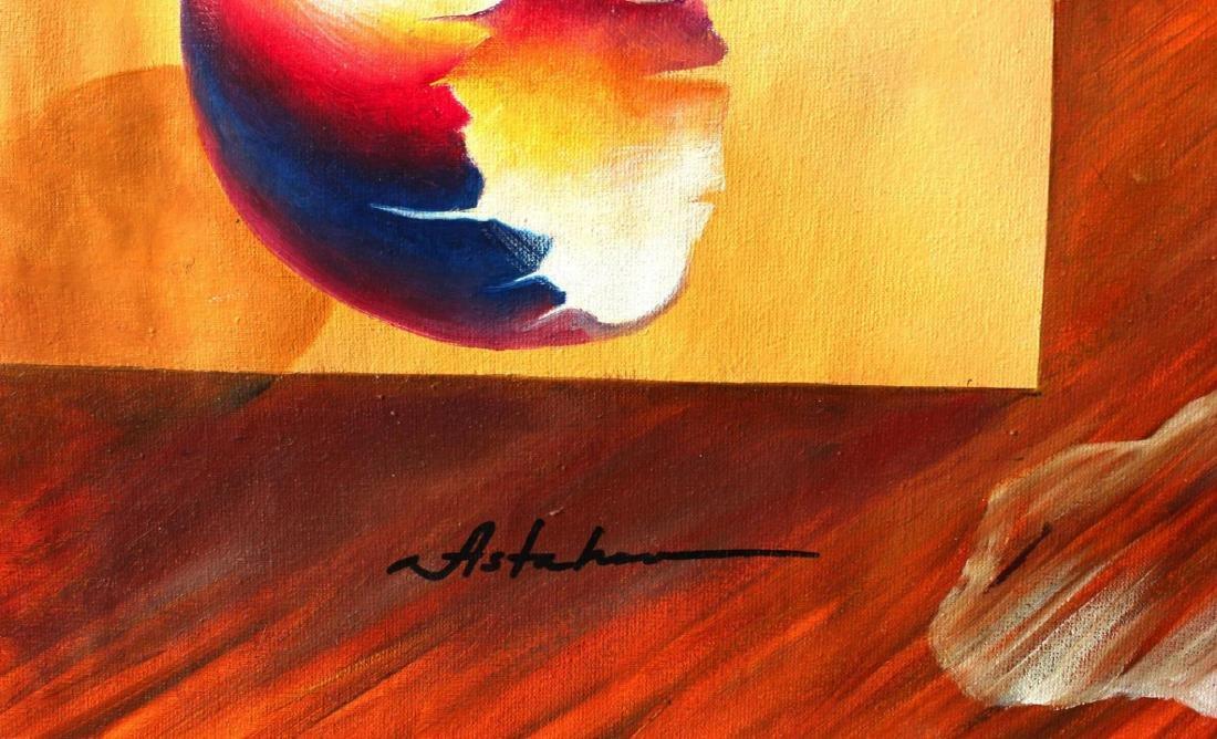 Alexander Astahov Original Oil on Canvas Surreal One of - 2