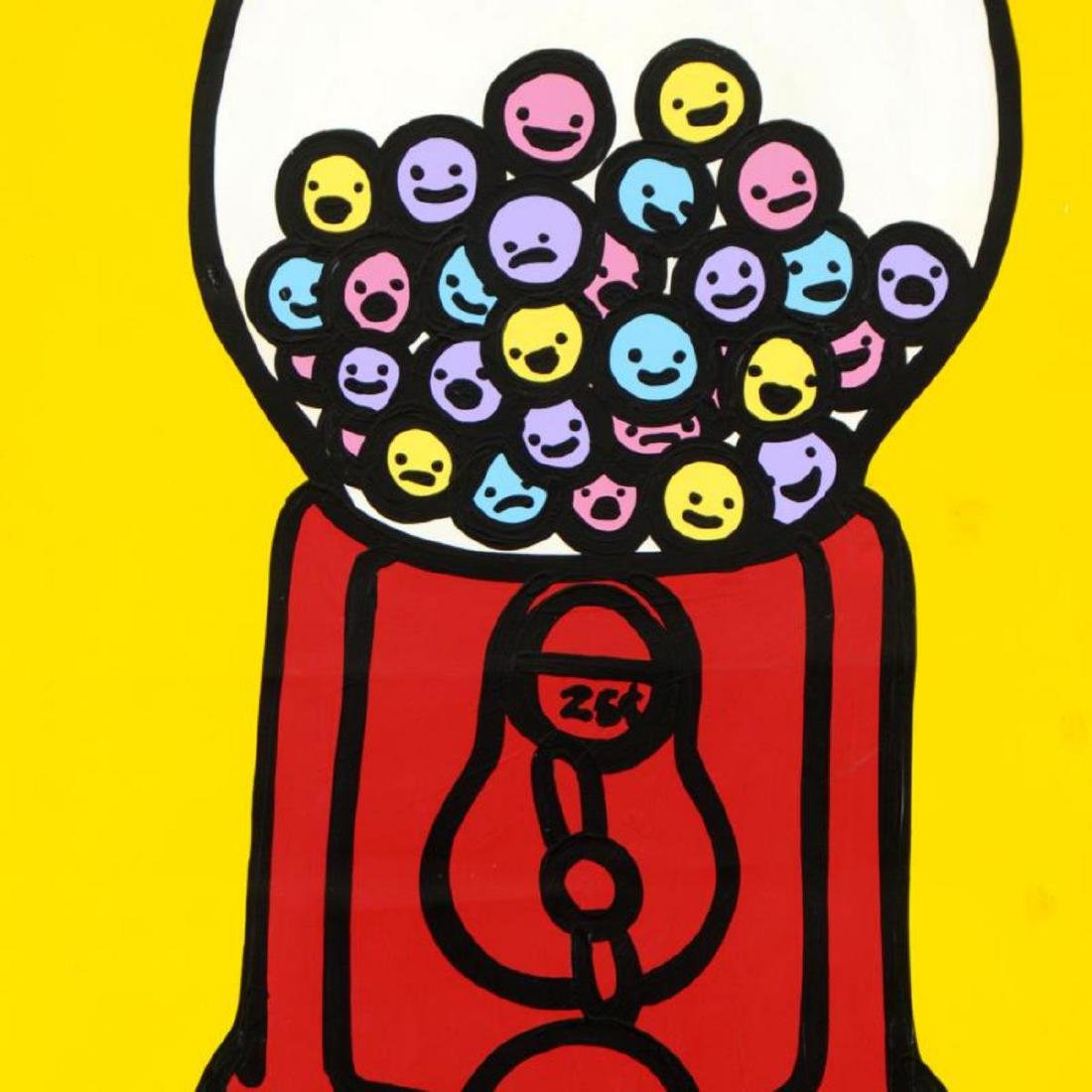 "Todd Goldman - ""I'm Free"" Original Acrylic Painting on - 2"
