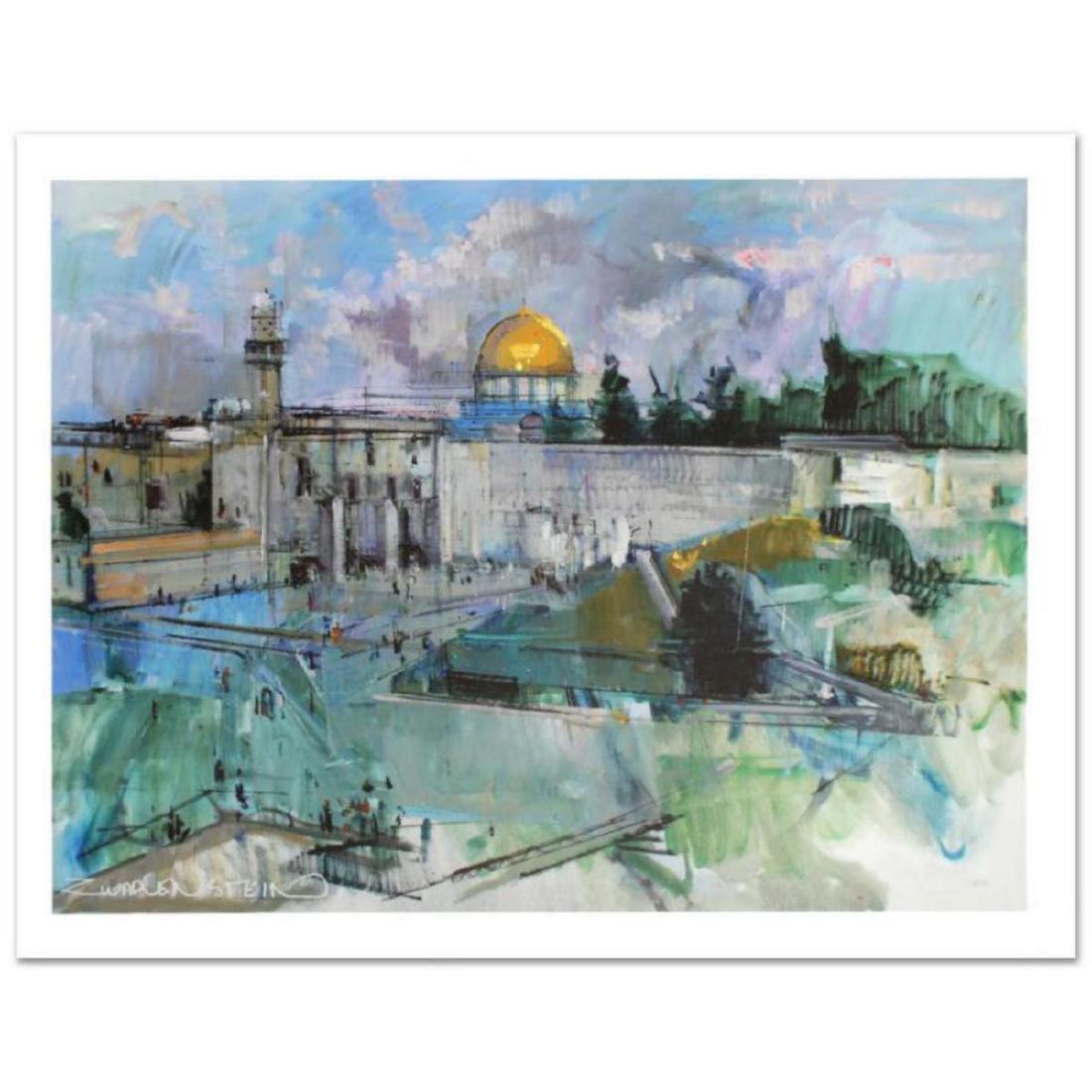 """Jerusalem"" Limited Edition Giclee on Canvas (40"" x"