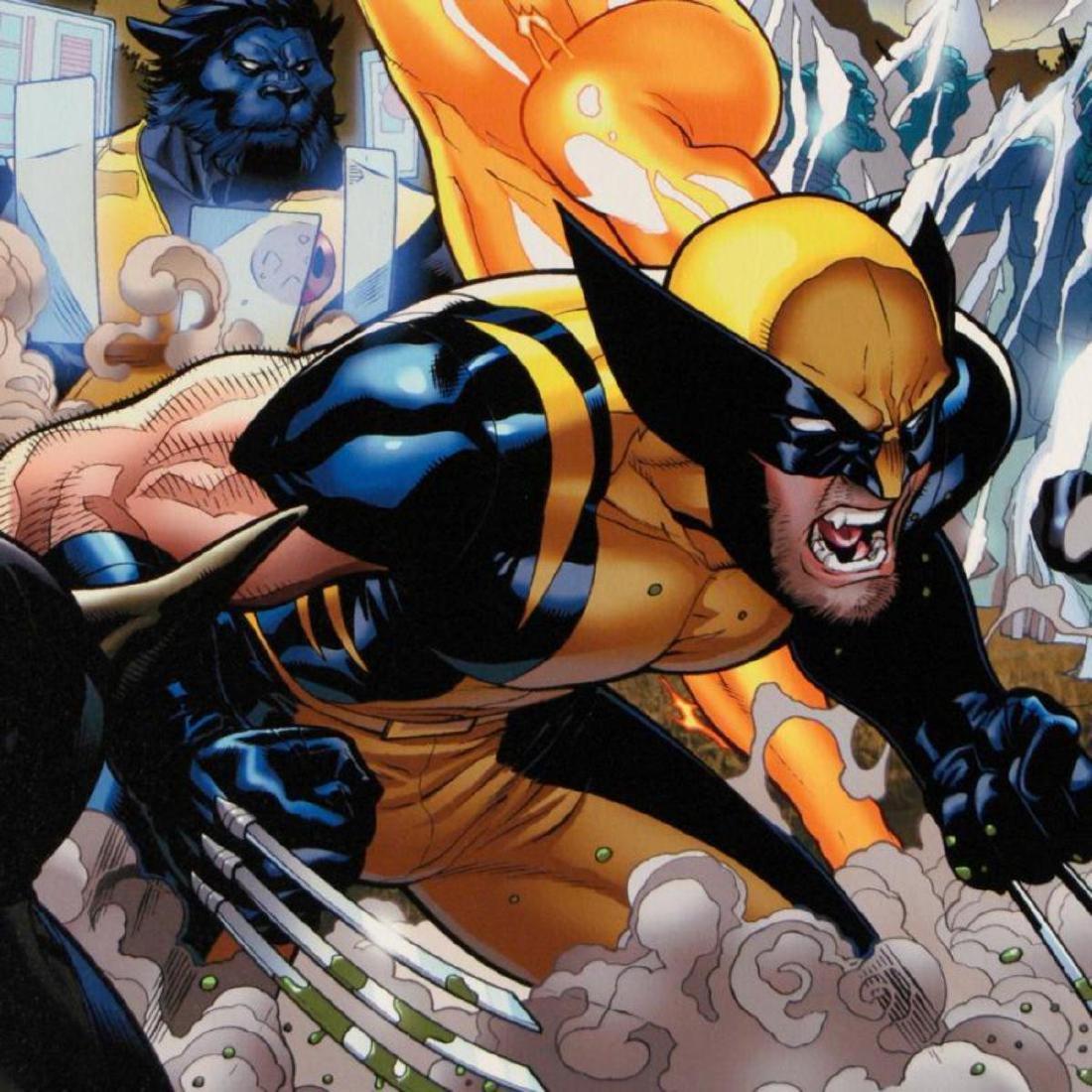 """Secret Invasion: X-Men #4"" Limited Edition Giclee on - 2"