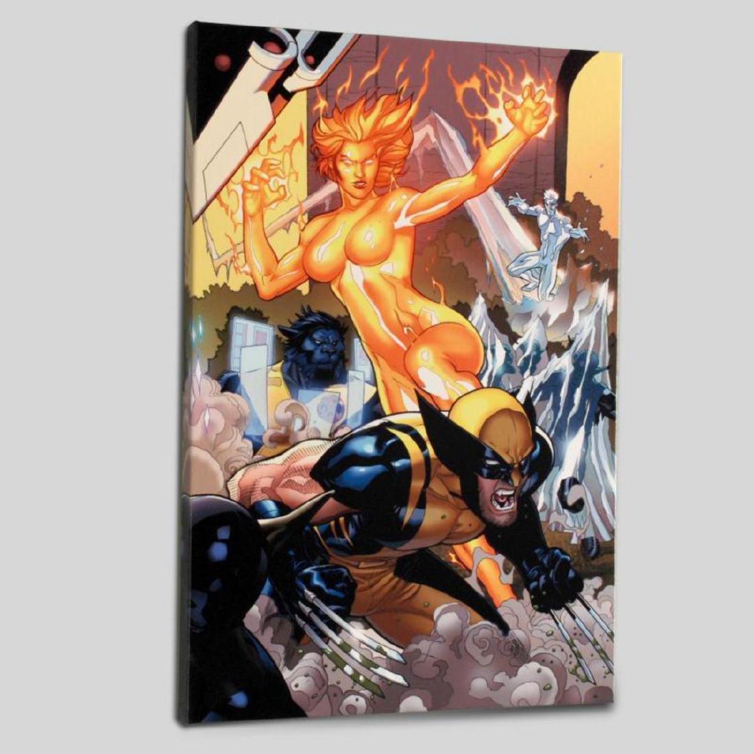 """Secret Invasion: X-Men #4"" Limited Edition Giclee on - 3"