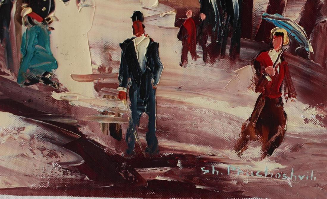 Shalva Phachoshvili Original Oil on Canvas- Dressing - 2