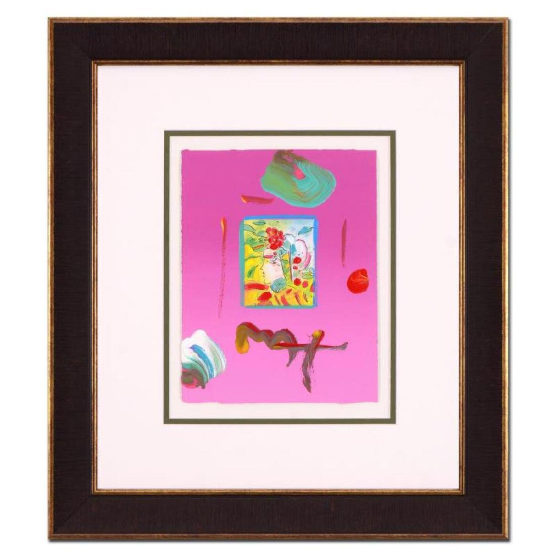 """Peter Max - """"Profile Series"""" Framed One-Of-A-Kind"""