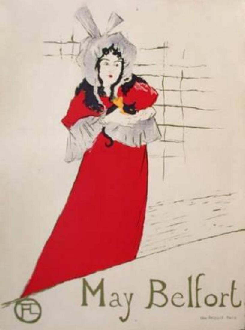 """Henri de Toulouse-Lautrec """"May Belfort"""""""