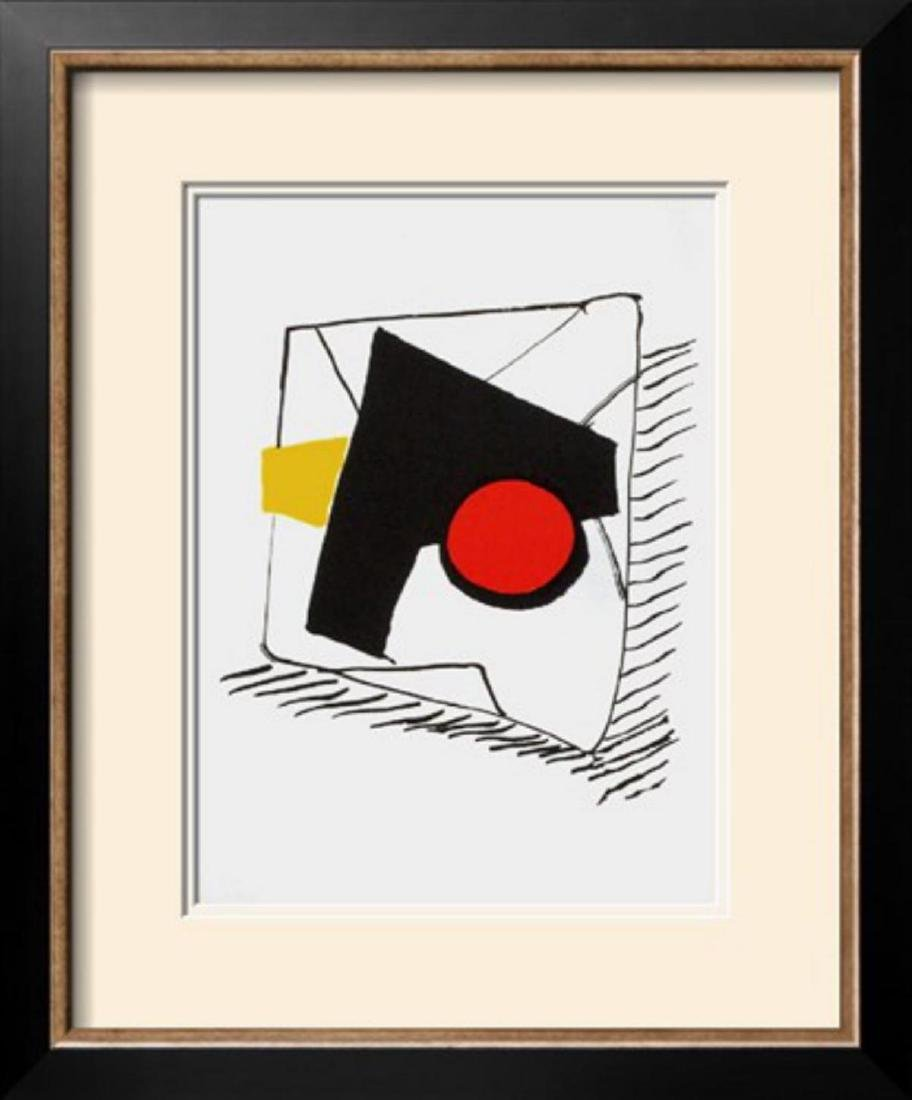 "Alexander Calder ""Derrier le Mirroir, no. 221:"
