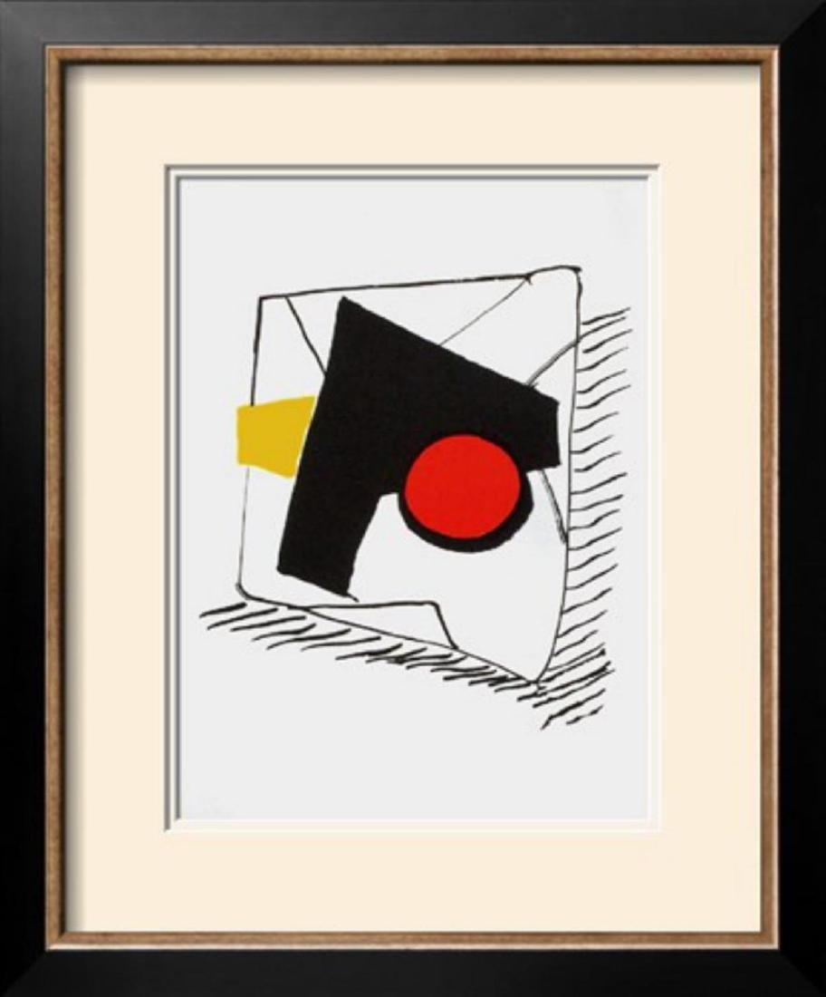 "Alexander Calder ""Derrier le Mirroir, no. 221:"