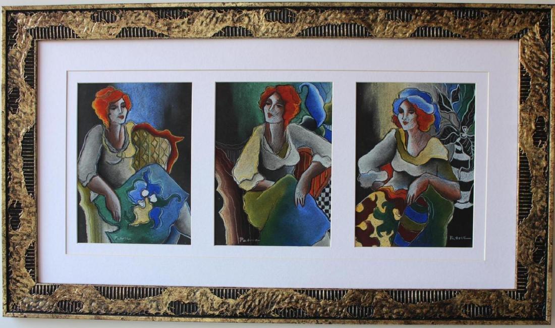 Patricia Govezensky Originals 3 Pastel color on paper