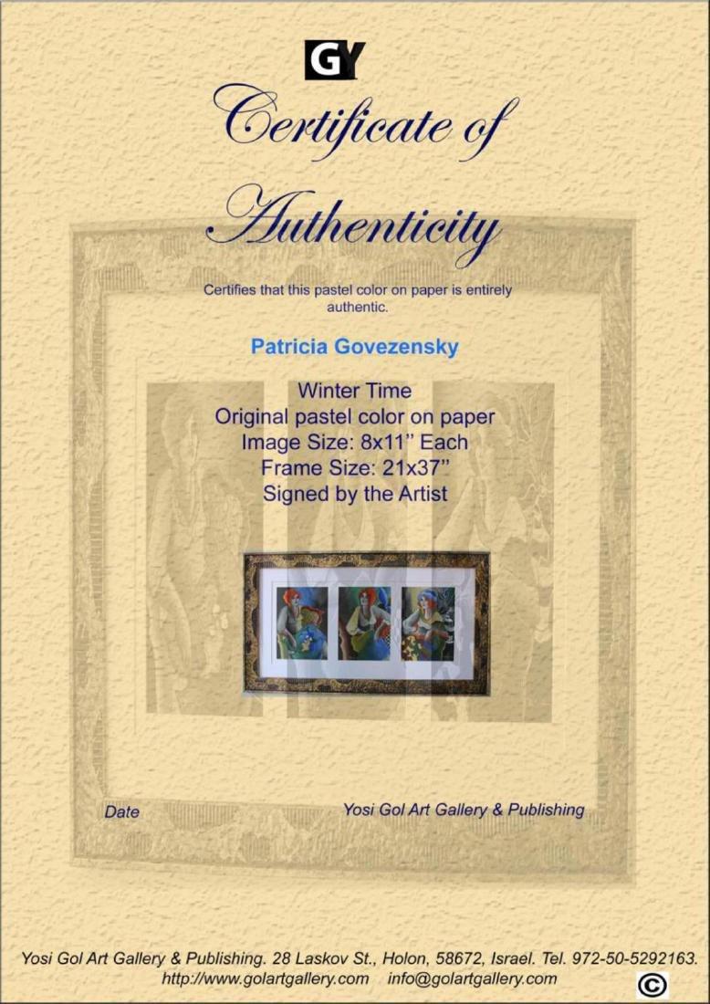 Patricia Govezensky Originals 3 Pastel color on paper - 5
