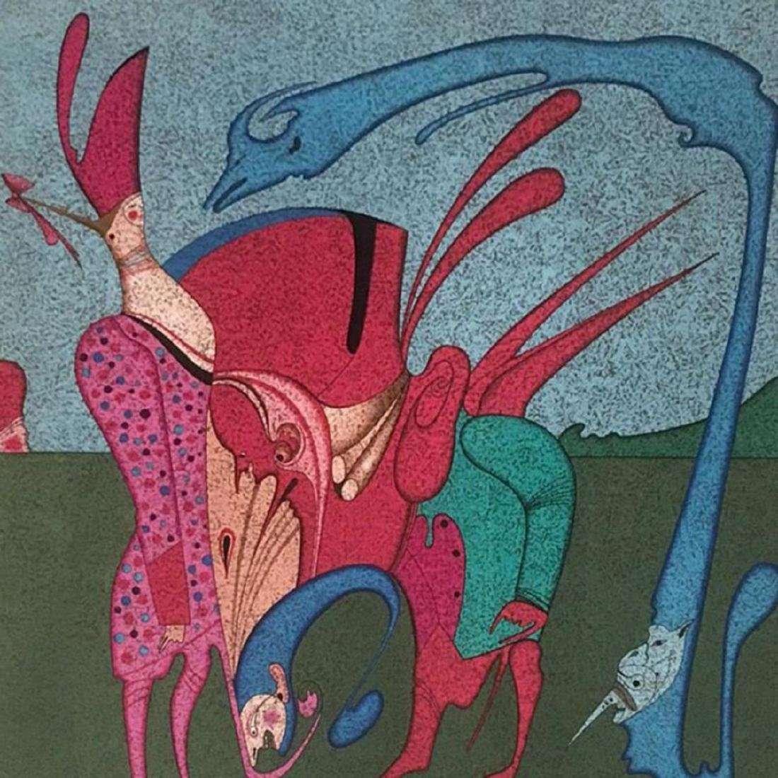 "Mihail Chemiakin - Carnival Series: ""Untitled 11"" - 2"