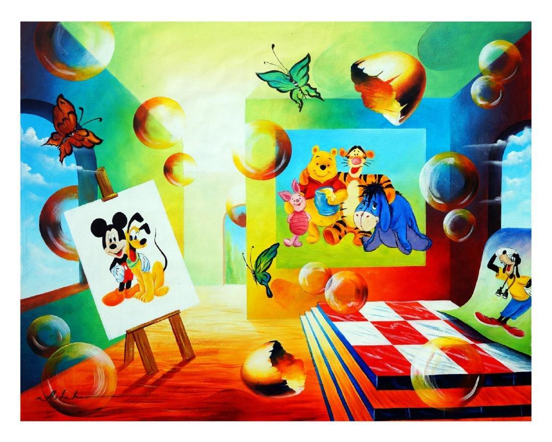 "Alexander Astahov- Original Oil on Canvas ""Friendship"