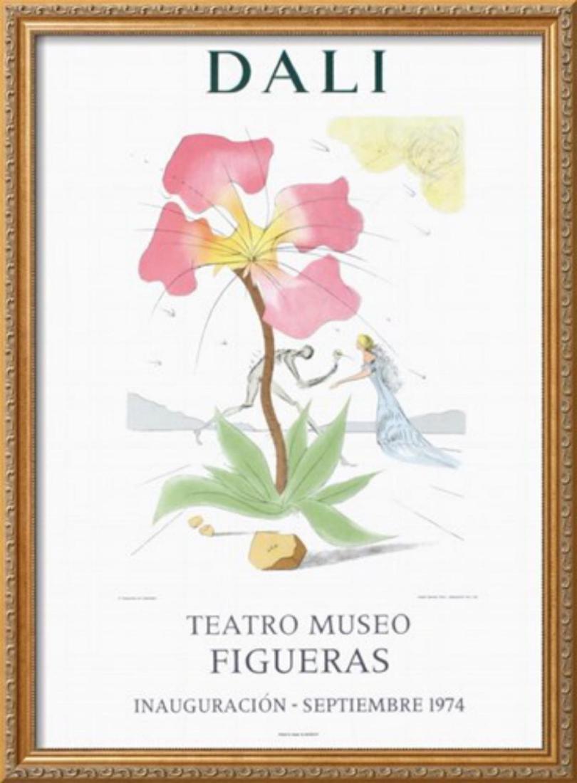 "Salvador Dalí ""Teatro Museo Figueras"" Original Poster"