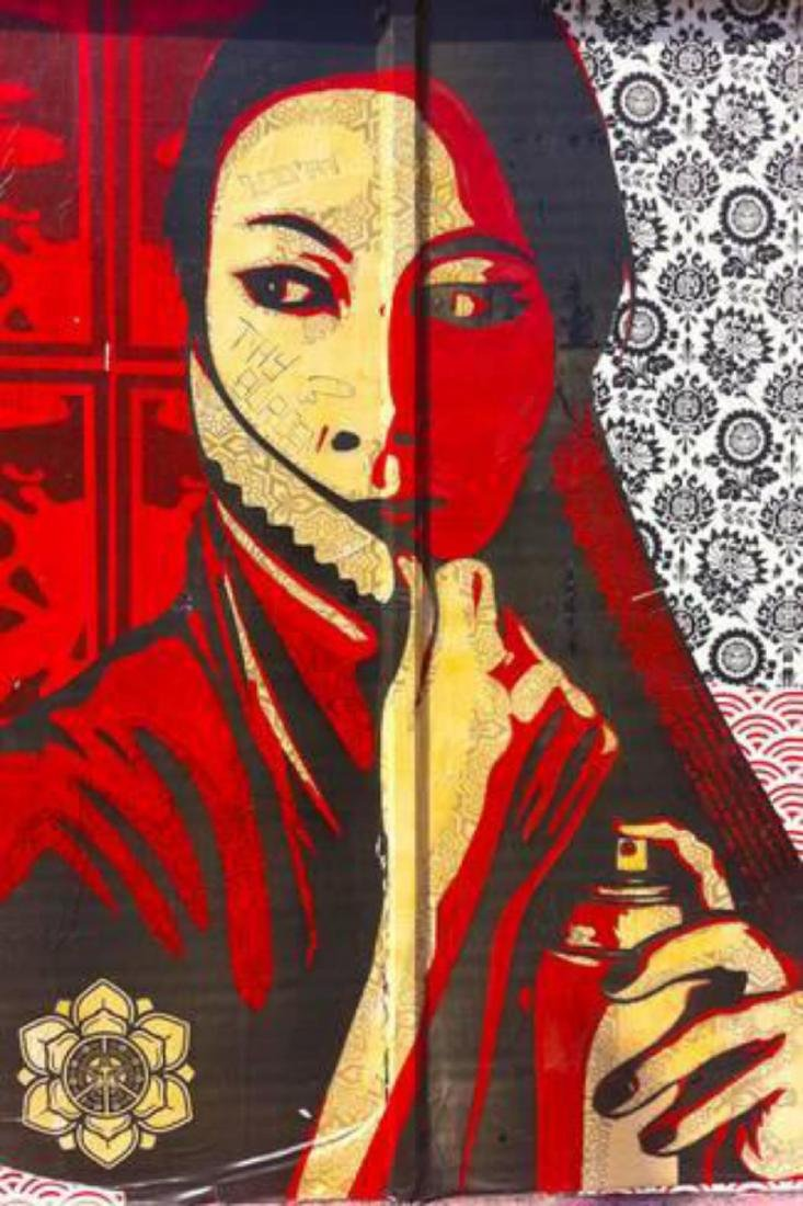 "Shepard Fairey ""Shepherd Fairey Street Graffiti"
