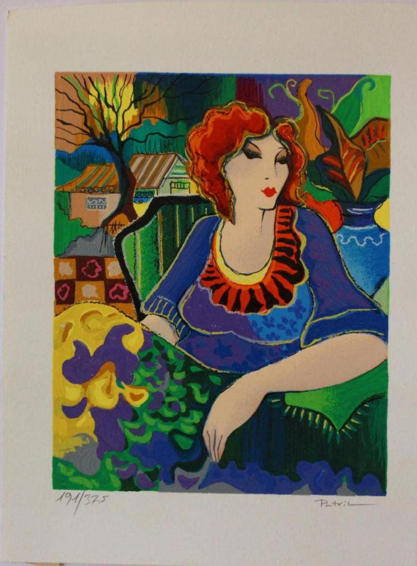 "Patricia Govezensky ""Sitting pretty"" Limited Edition"