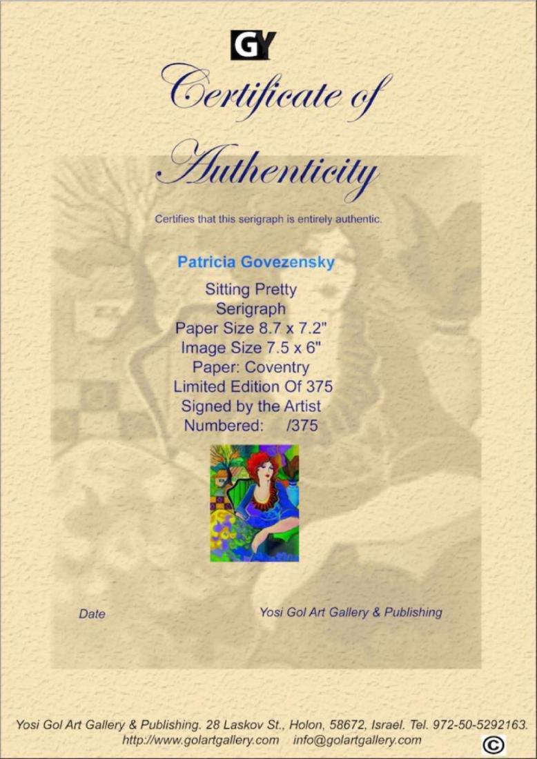 "Patricia Govezensky ""Sitting pretty"" Limited Edition - 3"