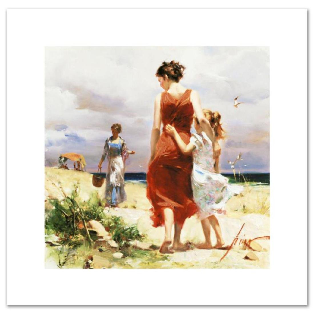 """Breezy Days"" LIMITED EDITION Artist-Embellished Giclee"
