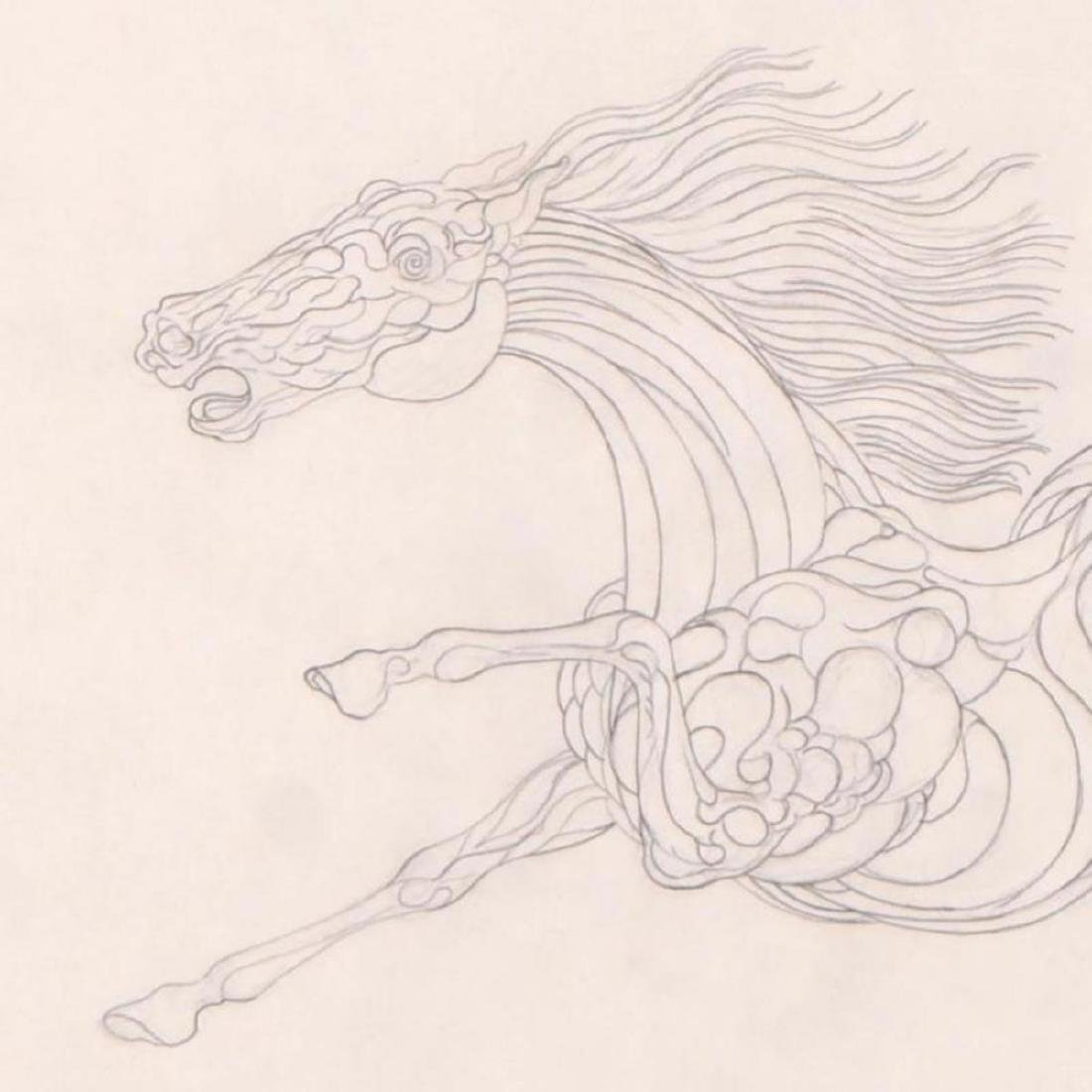 "Guillaume Azoulay - ""BI Sketch"" Framed Original - 2"