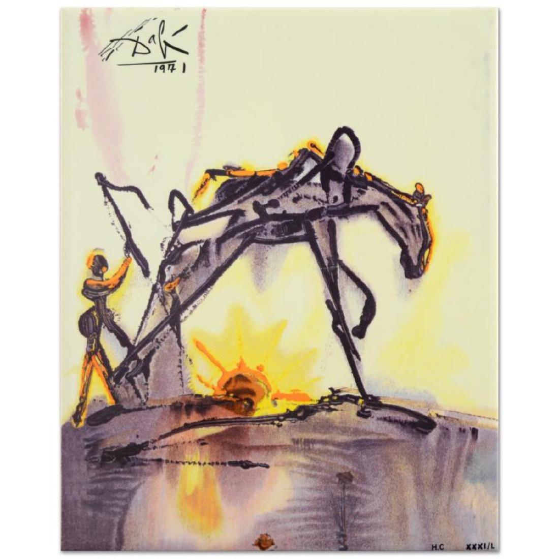 """Salvador Dali (1904-1989) - """"The Horse of Labor"""" SOLD"""