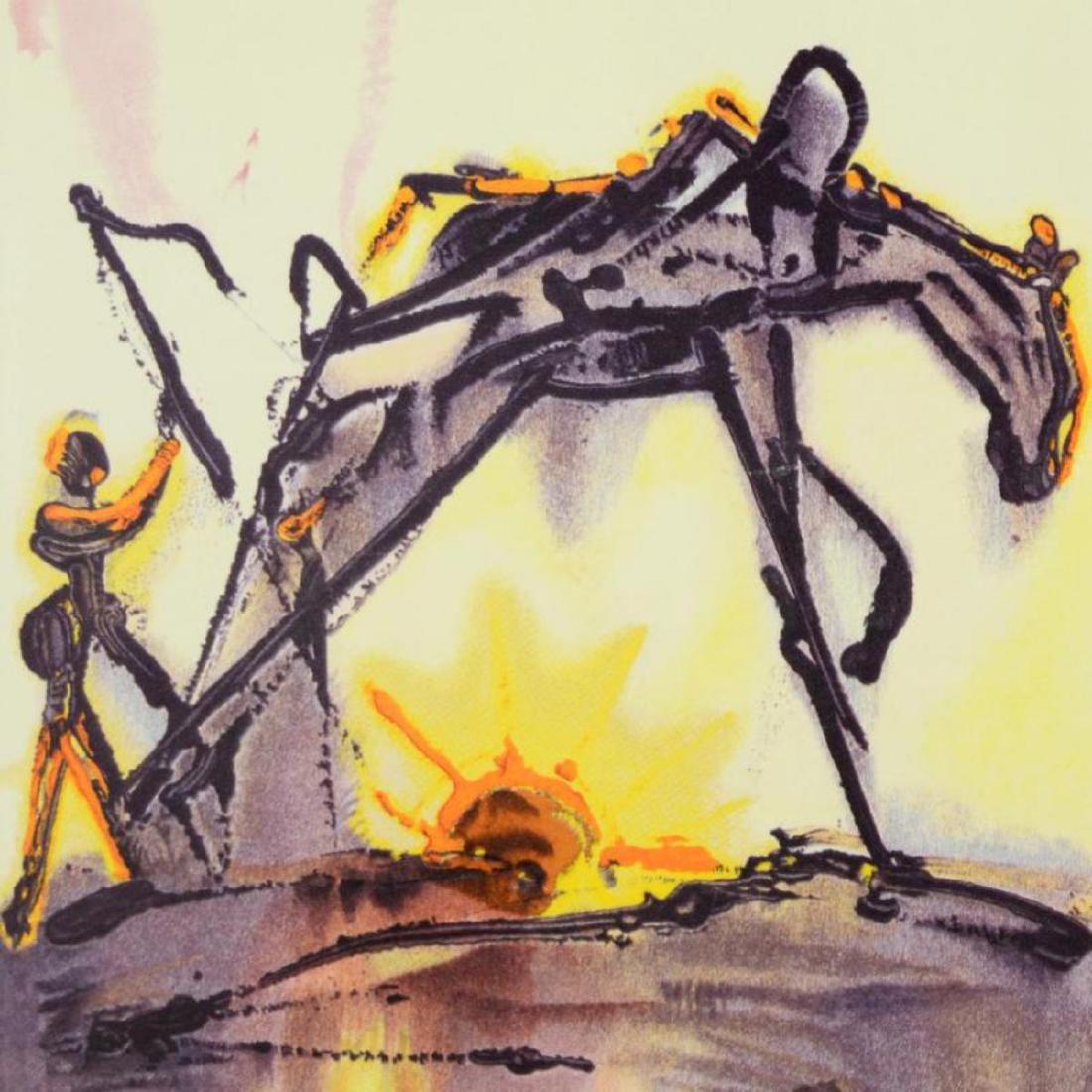 """Salvador Dali (1904-1989) - """"The Horse of Labor"""" SOLD - 2"""